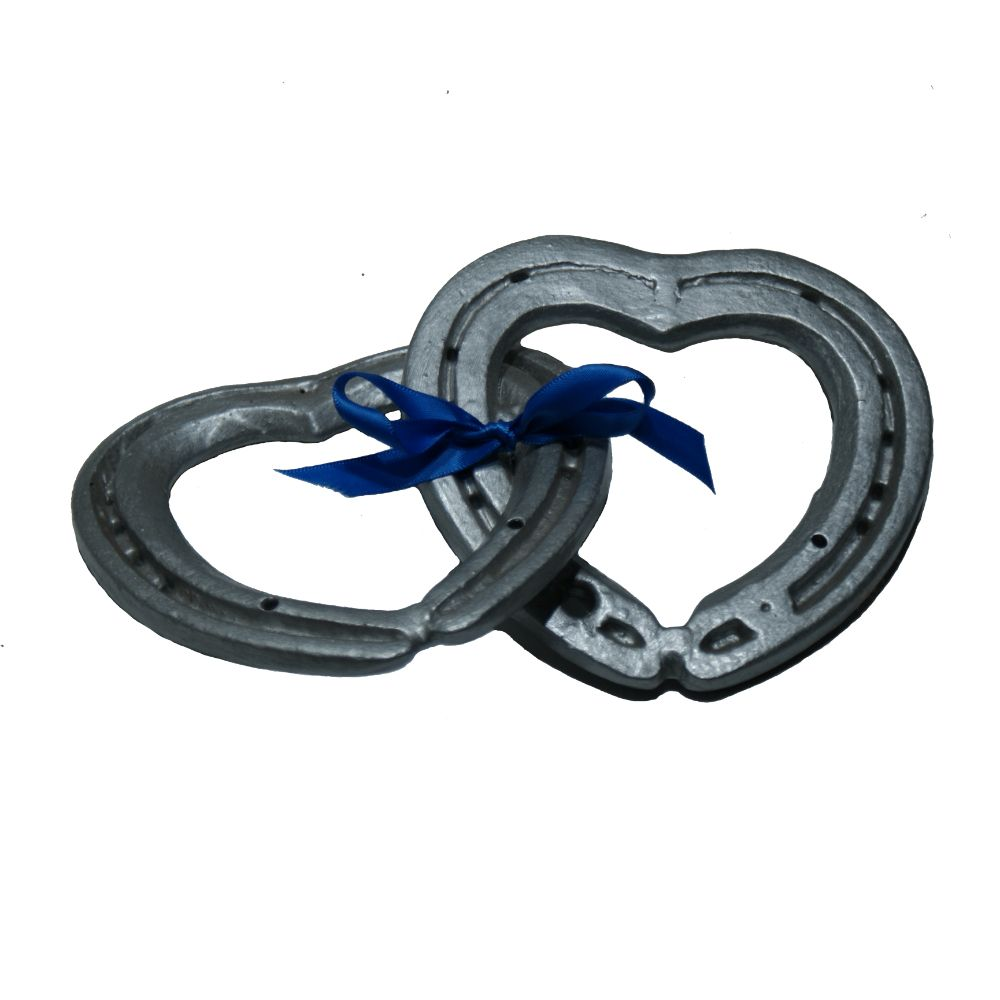 Linked Horseshoe Hearts